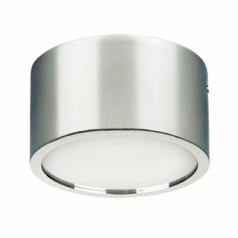 213914 Светильник ZOLLA CYL LED-RD 10W 780LM ХРОМ 4000K IP44 (в комплекте)