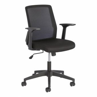Nasia office chair in black
