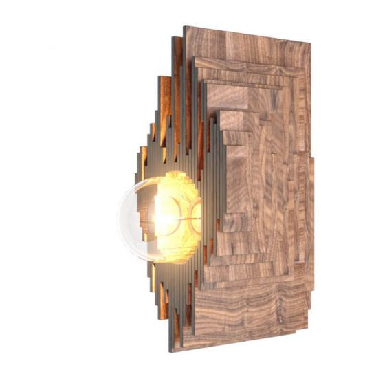 WOODLED GALACTIC Fourier Wall Lamp